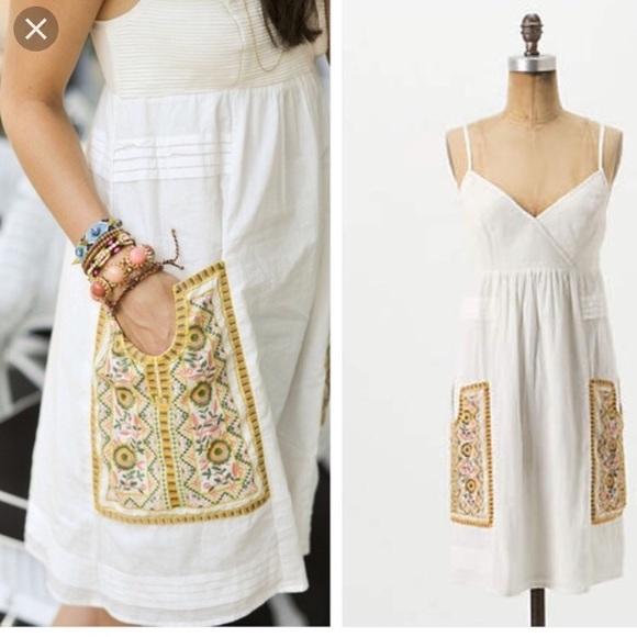 1d9149649903 Anthropologie Dresses & Skirts - Anthro Vanessa Virginia Desert Hills slip  dress 6